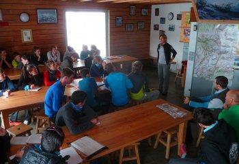 Reinach Students at La Vanoise National Park Ranger