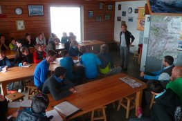Reinach Students at La Vanoise National Park Ranger